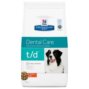 Hill´s t/d Prescription Diet Dental Care pienso para perros