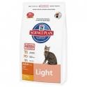 Hill's Adult Light con pollo para gatos