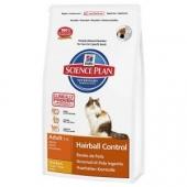 Hill's Adult Hairball Control con pollo para gatos