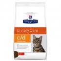 Hill's c/d Prescription Diet con pollo pienso para gatos