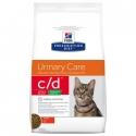 Hill's c/d Prescription Diet Urinary Stress Reduced Calorie pienso para gatos