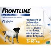 Frontline Combo Perros 2-10 Kg 3 Pipetas