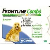Frontline Combo  Perros 10-20 Kg 3 Pipetas