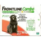 Frontline Combo Perros 40-60 Kg 3 Pipetas