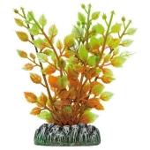 Decoracion Planta Plastico Aquatic Higrofila Naranja