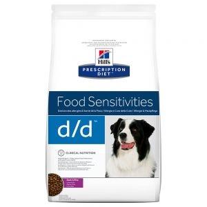 Hill's d/d con Pato y Arroz Prescription Diet pienso para perros