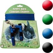 Arnes y Correa para Conejos Enanos