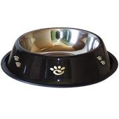 Comedero Perro Elegance Negro 0,2 L