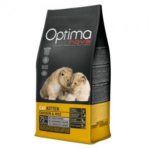 Optimanova Cat Kitten Chicken & Rice